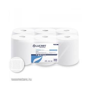 Kéztörlő papír tekercses 2R. hófehér 19cm, Maxi 435lap 6tekercs