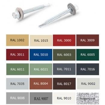 4,2*16mm-es Önf. Nagy Lencsefejű (Opel) RAL 7016