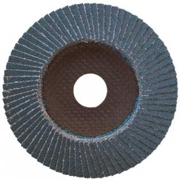 125/ Z40 Lamellás csiszoló Inox íves