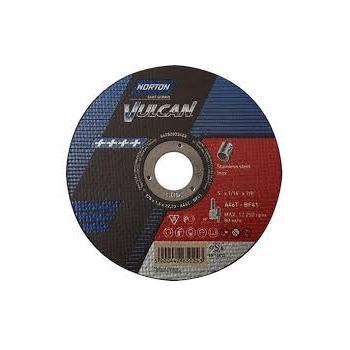 125*1 Vágókorong Vulcan Plus inox (NORTON)