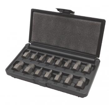 BAHCO Törtcsavar kiszedő készlet 3-14mm-ig 15 részes
