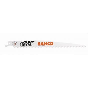 BAHCO Orrfűrészlap, Sandflex® Bi-metal, 150 mm, 4/6 ZpZ, SC, 2db-os kiszerelés