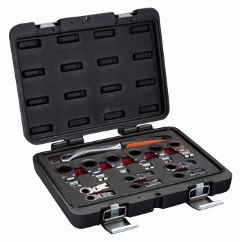 BAHCO racsnis cserélhetőfejű kulcs készlet, 12db-os