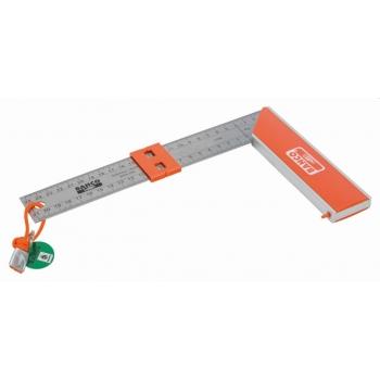 BAHCO Asztalos derékszög 250mm, leesésvédelmi