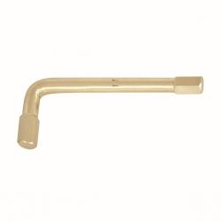 BAHCO Szikramentes hajlított tengelyű kulcs, Alumínium-Bronz, Al-Br, 5mm