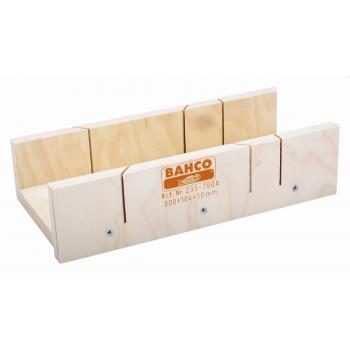 BAHCO Gérvágó láda fából - 400x104x50mm