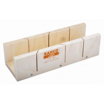 BAHCO Gérvágó láda fából- 300x70x50mm
