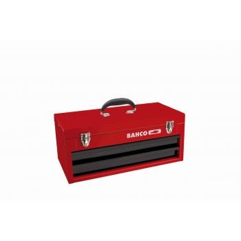 BAHCO 2 fiókos és felső tálcás fémláda