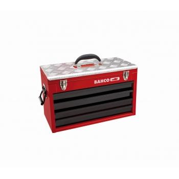 BAHCO 4 fiókos és felsőtálcás fém szerszámosláda