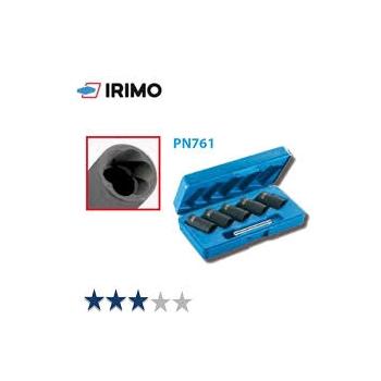 """IRIMO Dugókulcsfej készlet lesarkított csavarhoz 1/2"""""""