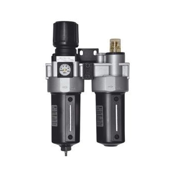 """BAHCO 1/2"""" levegőolajzó és nyomásszabályozó, tartálykapacitás: 200cm3,"""