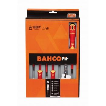 BAHCOFIT szigetelt csavarhúzó készlet, 7 részes