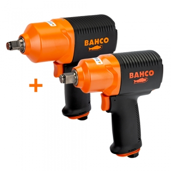 BAHCO Levegős ütvecsavarozó csomag: BPC815 +BPC814 gépek