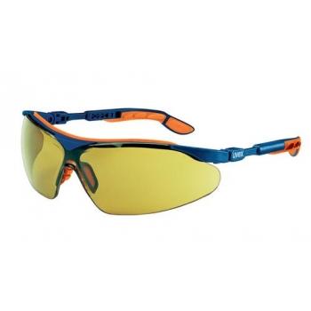 Védőszemüveg (sárga) UV, karcolás-ellenes bevonattal