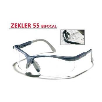 Védőszemüveg Bifocal 2,5 Zekler 55 Víztiszta