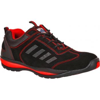 Steelite Lusum védőcipő S1P FW34 PORTWEST Szín: piros, Méret: 41