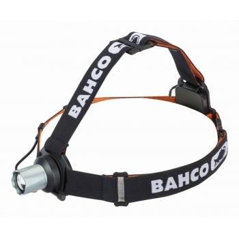 BAHCO Professzionális fejlámpa, 260 lumen, leesésvédelmi