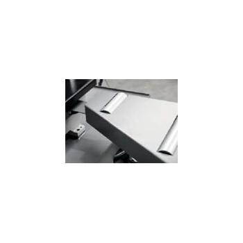BOMAR Csatlakozó elem T540 görgősorhoz jobb (Workline 350 DG, DGH, GANC)