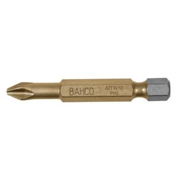 BAHCO Titán bit PH2 csavarokhoz, 50mm, 5db/csomag