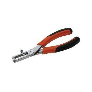 BAHCO Kábelcsupaszoló fogó, Réz vezeték, kábelhez, 150mm, 0,5-5mm2