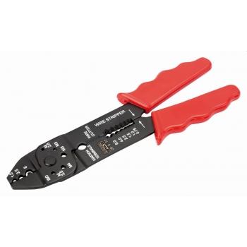 BAHCO Krimpelőfogó, vágáshoz és csupaszoláshoz, 220mm, piros