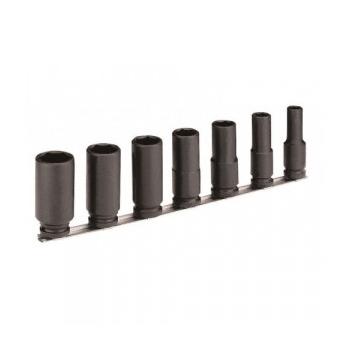 """IRIMO 1/2"""" Hosszított gépi dugókulcs klt. 7 részes, 10-27mm"""