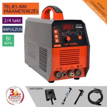 Hegesztőgép inverteres HP-200 BL AWI