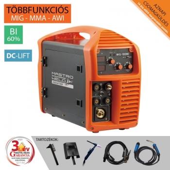 Hegesztőgép inverteres MIG-180 MI