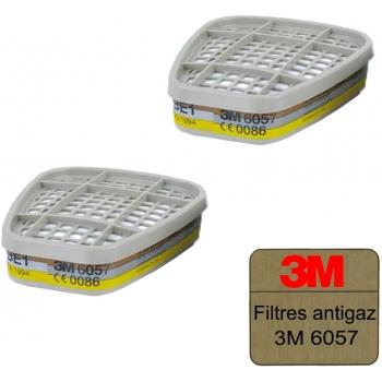 Félálarchoz szűrőbetét 3M 6057, ABE1 kombi (1 db)