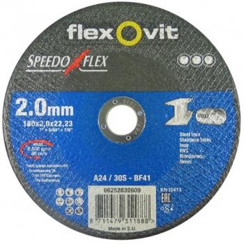180*2,5mm Vágókorong Inox Speedoflex