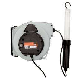 BAHCO Kábeldob lámpával 230V/24V falraszerelhető 15m-es