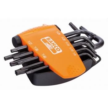 BAHCO Hatszögkulcs készlet TORX PLUS®, fekete, 8 db