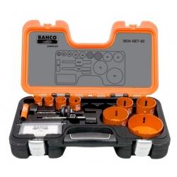 BAHCO Sandflex® Bi-metal körkivágó készlet, 11 részes