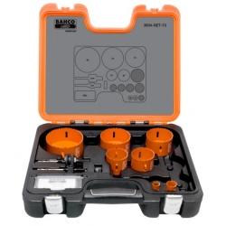 BAHCO Sandflex® Bi-metal körkivágó készlet, 9 részes