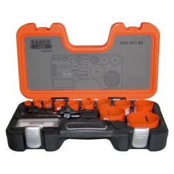 BAHCO Sandflex® Bi-metal körkivágó készlet, 18 részes