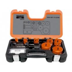 BAHCO Sandflex® Bi-metal körkivágó készlet, 10 részes