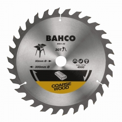BAHCO Körfűrészlap, gyorsvágáshoz fára, átmérő: 130mm, 16 fog