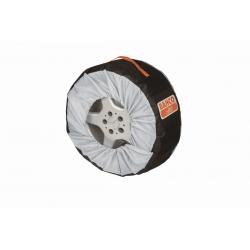 """BAHCO Gumi és keréktárcsa védő huzat, 4 részes, átmérő: 14-18"""", 355-470 mm"""