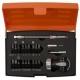 BAHCO Stubby Ratcheting Screwdriver Set, 22 Pcs