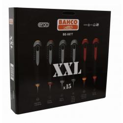 BAHCO ERGO™ csavarhúzó készlet, 15 részes