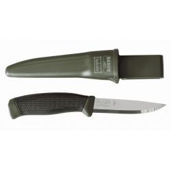 BAHCO Svéd Mora kés zöld, övtartóval
