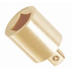 "BAHCO Szikramentes adapter, Alumínium-Bronz, Al-Br, 1/2""-ról 3/4"""