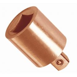 "BAHCO Szikramentes adapter, Berillium-Réz, Be-Cu, 3/4""-ról 1/2"", 55mm, 250g"