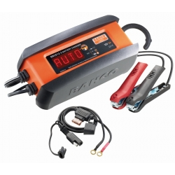 BAHCO 3 Amps Fully Automatic Charger/Maintainer For 12v Lead -Acid And Lithium Lifep04 Batteries