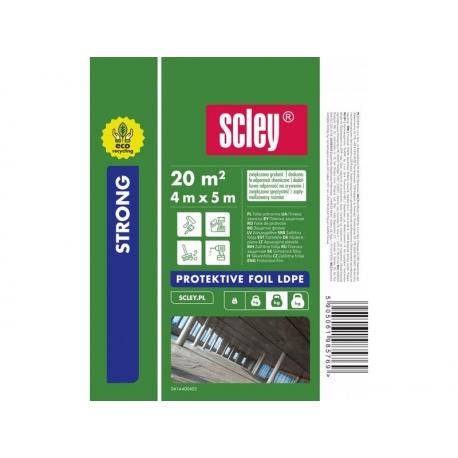 Takarófólia 4x5m Scley 40 mikron