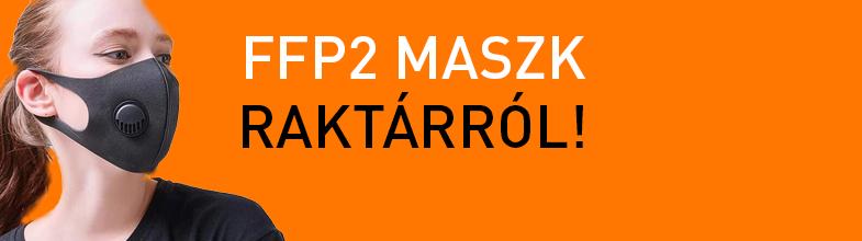 FFP2 Maszk raktárról